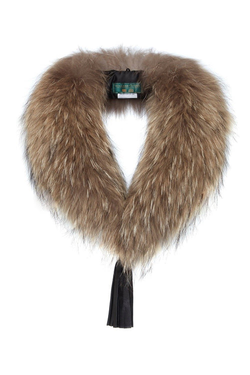 Fur Collar & Black Tassel