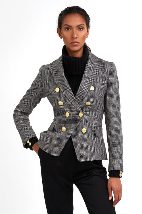 Knightsbridge Blazer (Prince of Wales Black)