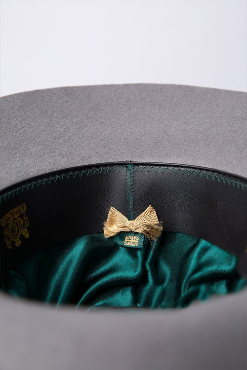 Trilby Hat (Light Grey/Grey)