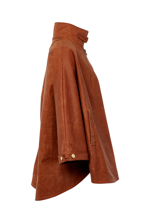 The Classic Cape (Toffee Wax)