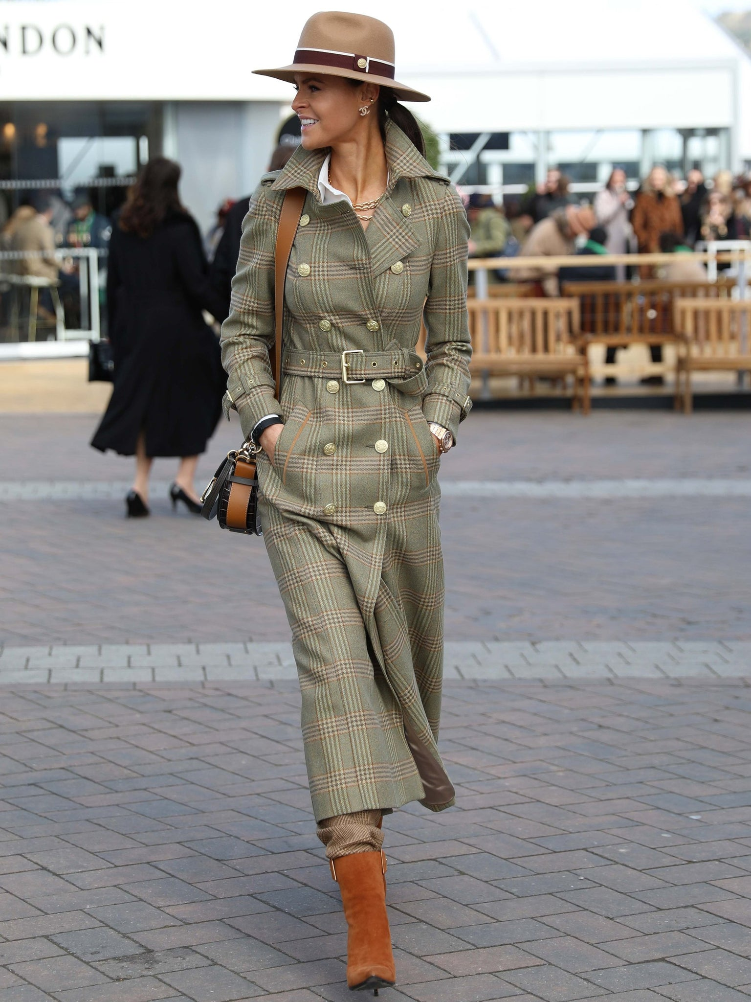 Full Length Marlborough Trench Coat (Leveret)
