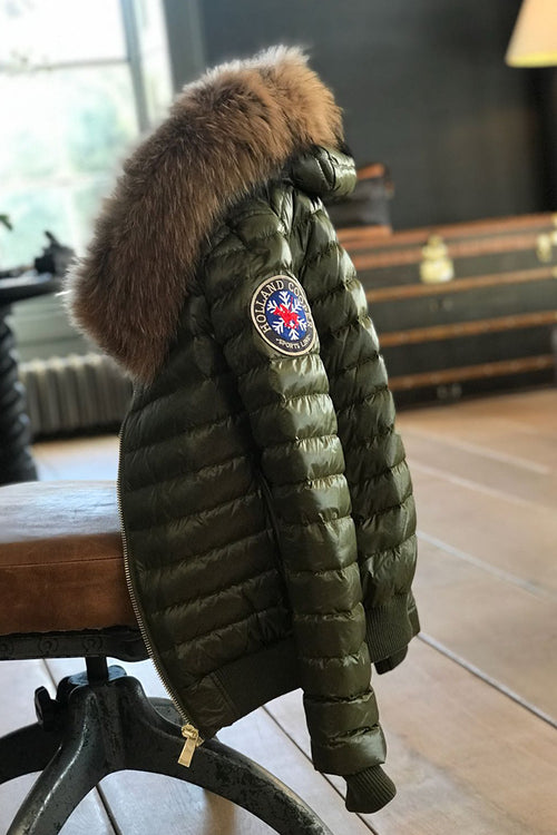 The Verbier Padded Coat (Khaki)