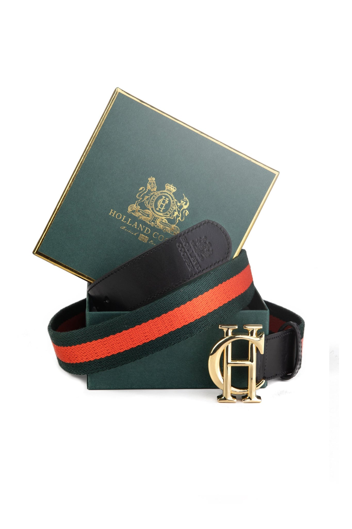 HC Classic Belt (Black with Neroli & Green)