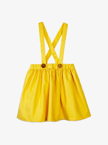 Sophia Yellow Denim Skirt - Barbapapi