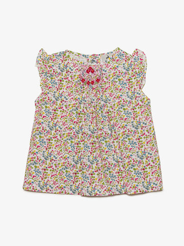 Annaëlle Short Sleeve Blouse - Barbapapi