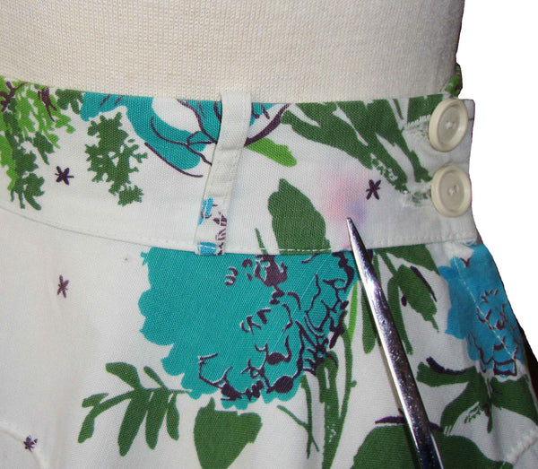 Close Up of 50s Circle Skirt