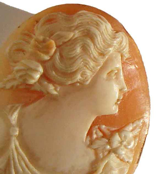 Antique Victorian Shell Cameo