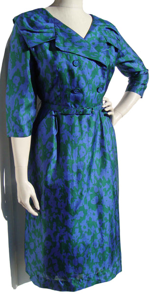 50s 60s Deadstock Dress - Metro Retro Vintage