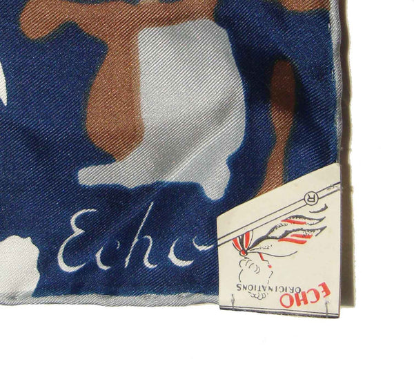 Vintage Echo Scarf Label