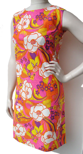 Mod Pop Art Dress - Metro Retro Vintage