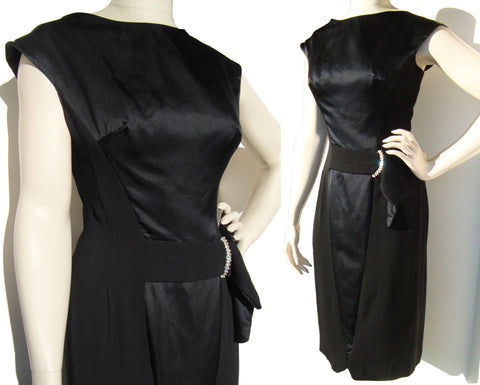 Vintage Grenelle-Roberts Cocktail Dress LBD