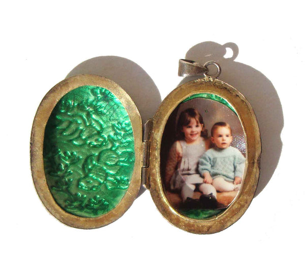 Vintage Chinese Export Enameled Locket