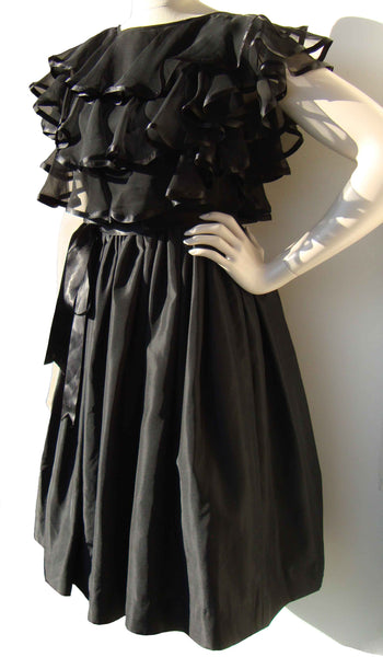 1950s LBD Cocktail Dress