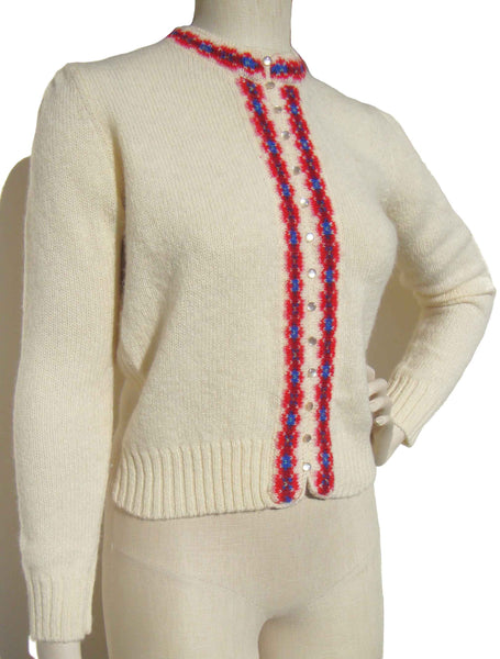 60s Cardigan Sweater - Metro Retro Vintage