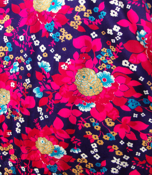 floral hippie dress fabric
