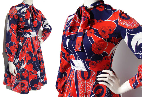 Vintage 70s Cirette Dress