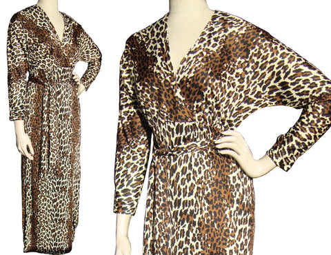 Cole of California Leopard Loungewear