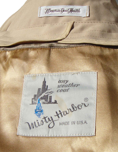 Vintage Misty Harbor Label