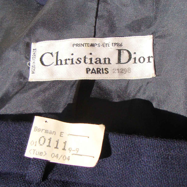 Vintage Christian Dior Label