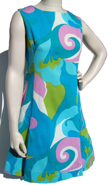 Vintage Mod Sundress Dress