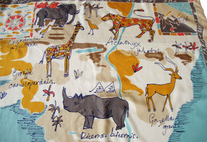 Vintage Echo Animal Scarf