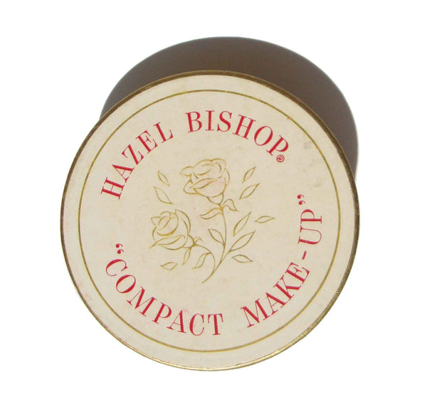 Vintage Hazel Bishop Compact Make-Up