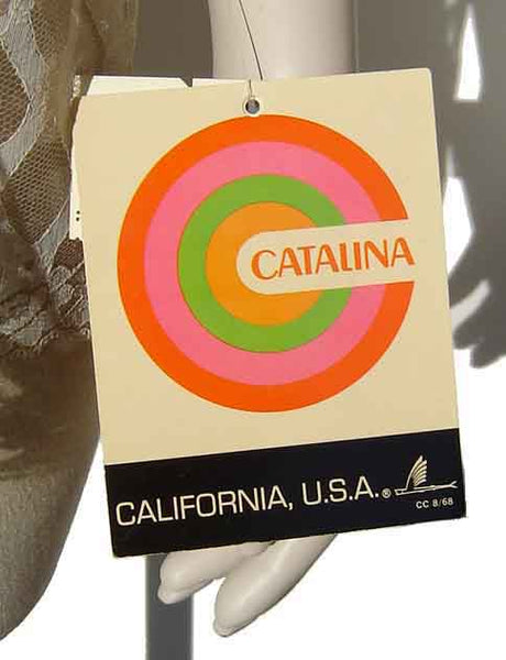 Vintage Catalina Label