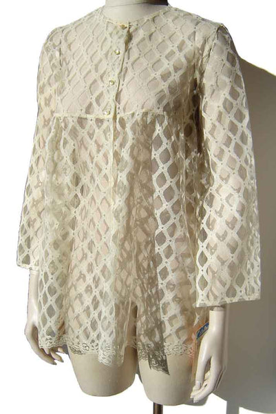 Vintage Lace Beach Jacket