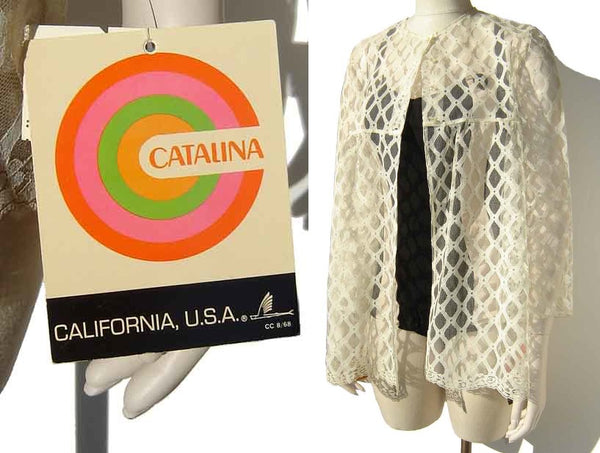 Vintage Catalina Beach Jacket with Tags