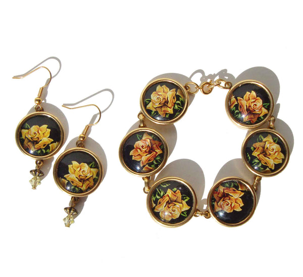 Designs from the Deep Yellow Rose Jewelry