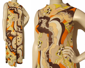 70s Psychedelic Jump Suit Pucci Style