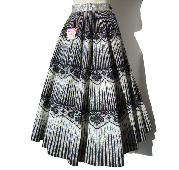 50s Circle Skirt Deadstock with Tag