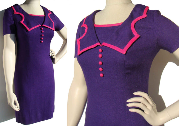 Vintage 60s Wiggle Dress by Andrea A