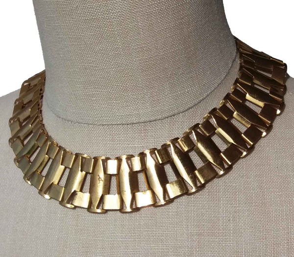 Art Deco Egyptian Revival Necklace