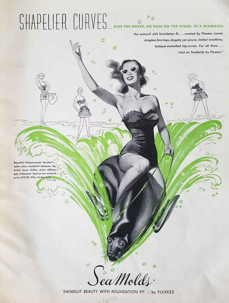 50s Sea Molds for Flexees Ad