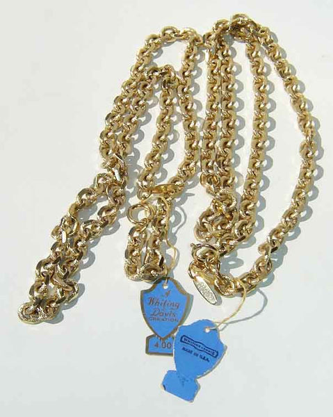 Vintage Whiting & Davis Necklaces