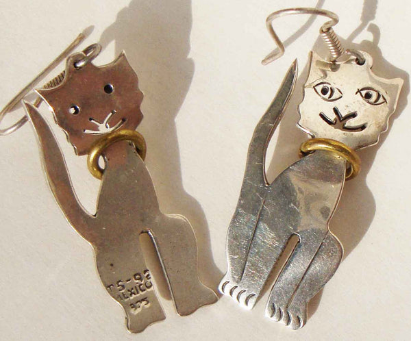 Taxco Cat Earrings