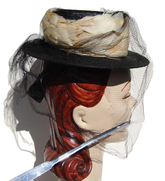 Vintage Ladies Toy Hat