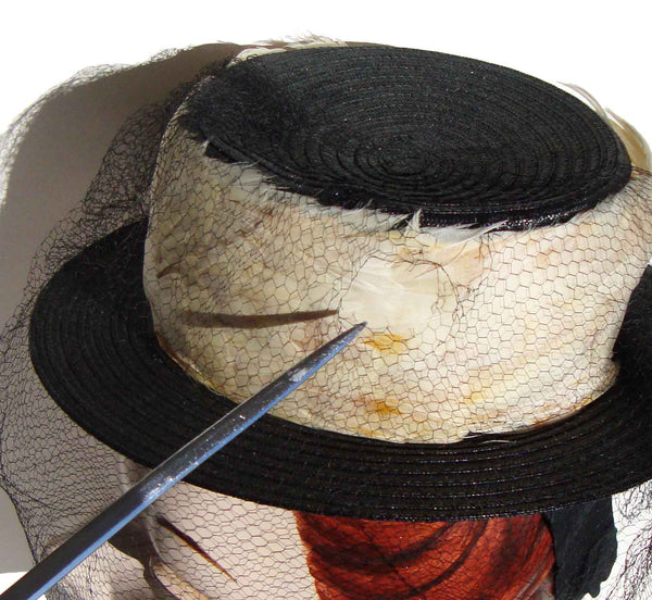 Vintage Ladies Doll Hat