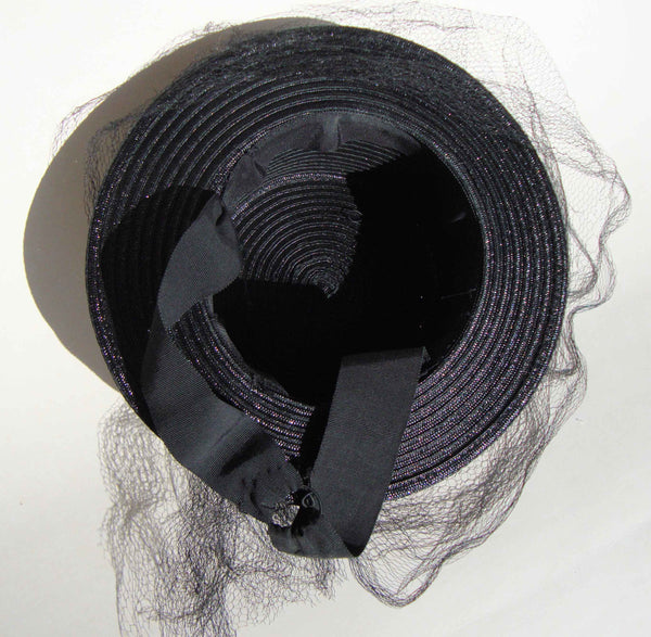 Underside of Vintage 40s Hat