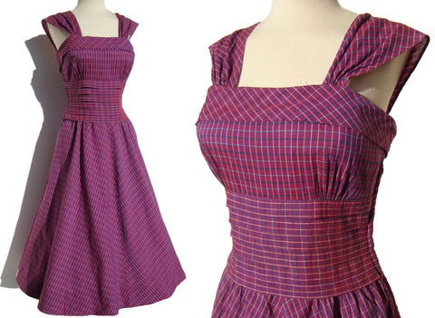 Vintage 50s Rockabilly Dress