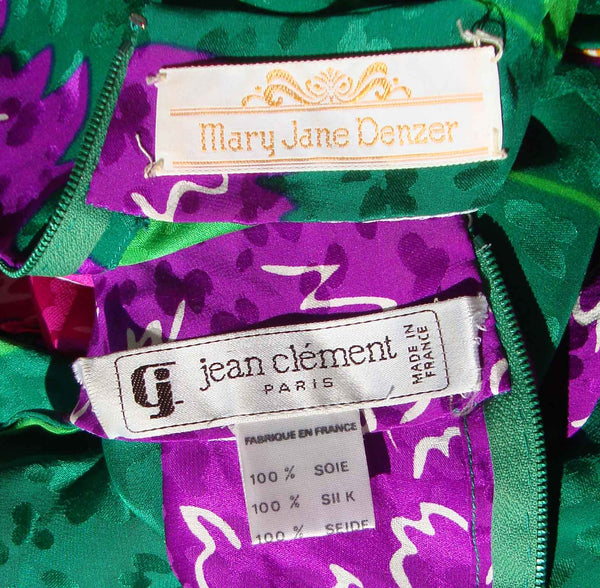 Labels for Jean Clement and Mary Jane Denzer
