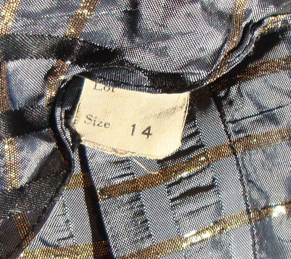 Label on 50s Jacket