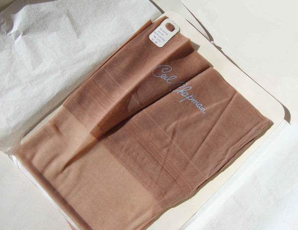 Vintage 50s Ceil Chapman Thigh High Stockings