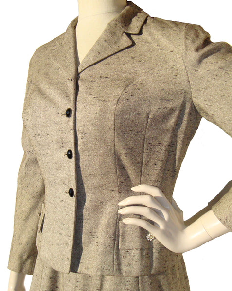 50s Tweed Suit Jacket