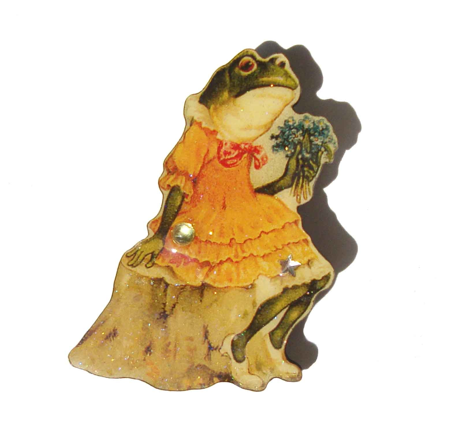 Victorian Style Frog Brooch DftD – Designs from the Deep