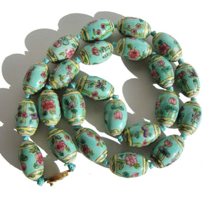 Vintage Chinese Export Beaded Necklace