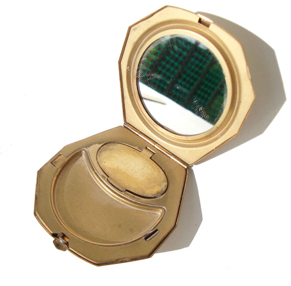 Art Deco Double Compact