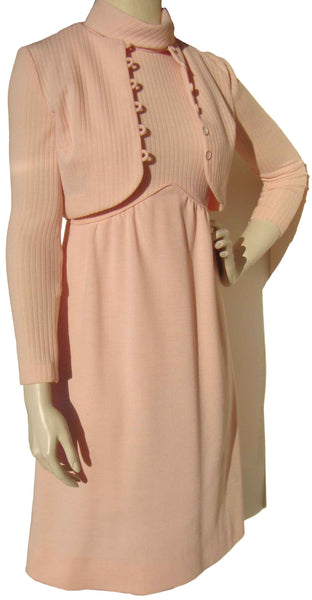 Pink 80s Dress by Alamor