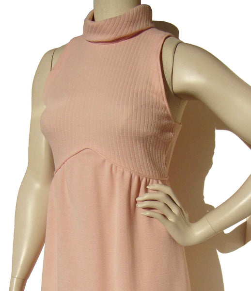 Vintage 80s Pink Dress by Joan Sparks